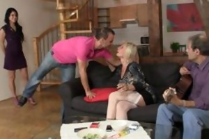 she is acquires lured into trio by her bfs parents