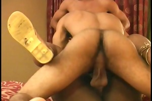 dark hunks double pounder a chubby darksome slut