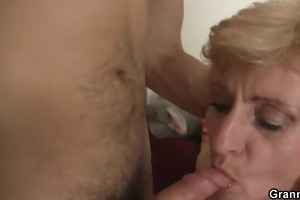 granny is picked up and snatch screwed