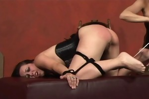 breathtaking sadomasochism lesbos in corsets play