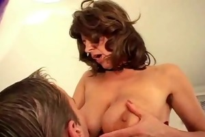 cute lad fucking breasty unshaved mother i bvr