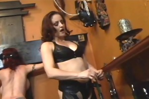 cute redhead receives dominated by redhead in