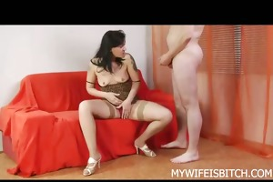 hot dilettante home wife