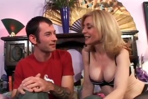 horny golden-haired d like to fuck gets bawdy