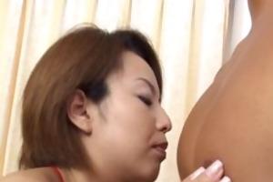 mother i rio kurusu makes her boyfriend cum part4