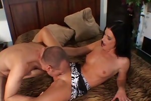 mrs. roberts screws in front of spouse