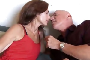 very hot aged chick sherry loves to fuck