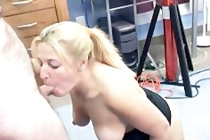 older liisa is fucking a toy and sucking knob