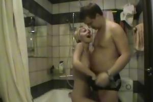 sex on the washing machine he-he