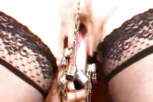 mature slave pussylips torment