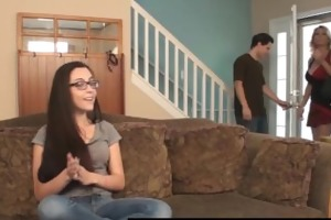 sexy wife charlee pursue breaks in the
