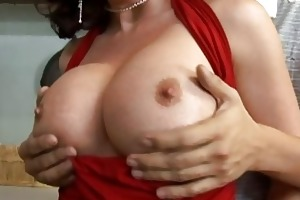 sexually excited breasty brunette hair d like to