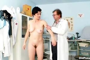 old barbora vagina real gyno fetish scrutiny by