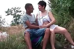 busty grandma fucking her youthful boyfriend