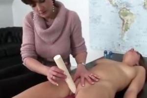 juicy cum-hole enjoys sex machine
