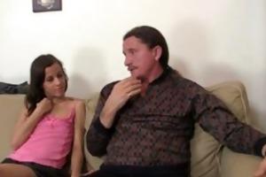nasty gf have fellatio joy with her bfs parents