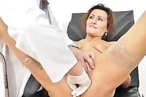 redhead wife puss doctor role play