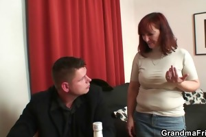 poker-playing granny acquires drilled by boyz