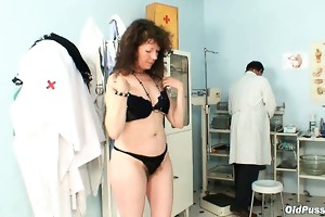 karla visits gyno clinic with exceedingly curly