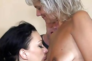 granny fuck with beauty and lad