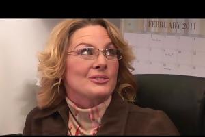 office lesbians receive it is on