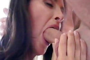 mother i in anal casting receives sprayed