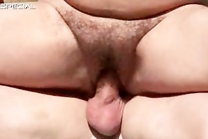 lewd d like to fuck receives her unshaved muf