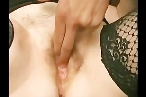 excited granny acquires overspread in jizz