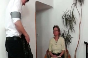 aged woman seduces her son in law part6