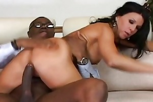 breathtaking raven haired mother i rides on a