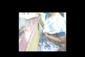 tamil cell shop aunty public show