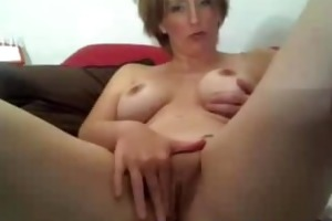 hot mother i copulates herself on web camera