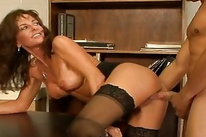 breasty aged fuck doxy in nylons