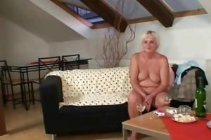lewd granny seduces son in law