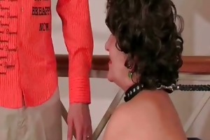 breasty chunky older doxy gets moist beefy part1
