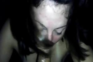 dark brown wife st time deepthroat experience