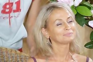 breasty russian aunt