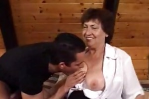 granny receives drilled