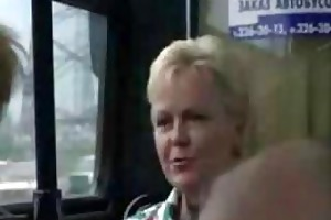 public indecency on the bus this lascivious pair