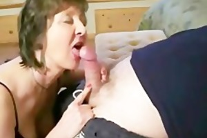 dilettante oral-job and cumshot compilation