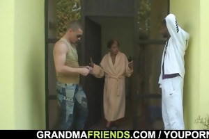 males group sex granny