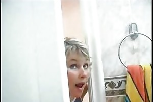 mom spying on son will he is was in shower than