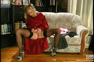 youthful student seduces her professor