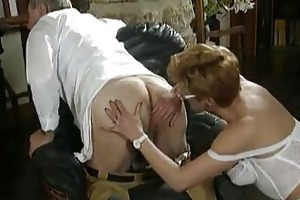 mature sex with unshaved milf and her doctor