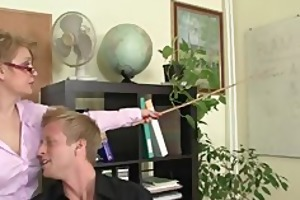 office whore enjoys riding his meat