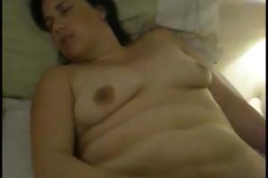 drunk bulky wife sharon woodhouse masturbates her