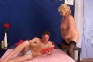 see one of italys grannies having hardcore sex