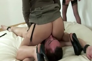 british femdom british bitches punish tied stud