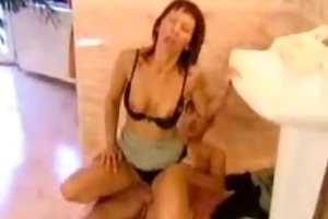 redhead mother i get drilled