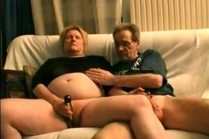 older non-professional sex movie scene
